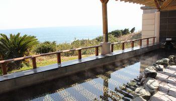 太平洋一望の自慢の露天風呂のイメージ